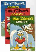 Golden Age (1938-1955):Cartoon Character, Walt Disney's Comics and Stories #141-150 Group (Dell, 1952-53)Condition: Average VG/FN.... (Total: 10)