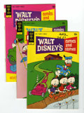 Bronze Age (1970-1979):Cartoon Character, Walt Disney's Comics and Stories #381-399 Group Bronze (Gold Key,1972-73) Condition: Average VF+.... (Total: 19)