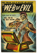 "Golden Age (1938-1955):Horror, Web of Evil #7 Davis Crippen (""D"" Copy) pedigree (Quality, 1953)Condition: FN+...."