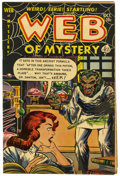 "Golden Age (1938-1955):Horror, Web of Mystery #14 Davis Crippen (""D"" Copy) pedigree (Ace, 1952)Condition: FN...."