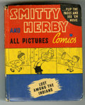 Books:Miscellaneous, Big Little Book #1404 Smitty and Herbie Lost Among the Indians(Whitman, 1941) Condition: FN+....