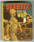 Books:Miscellaneous, Big Little Book #1414 Skeezix Goes to War (Whitman, 1944) Condition: VG....