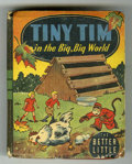 Books:Miscellaneous, Big Little Book #1472 Tiny Tim in the Big, Big World (Whitman,1945) Condition: FN-....