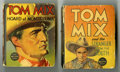 Platinum Age (1897-1937):Miscellaneous, Big Little Book Tom Mix Group (Whitman, 1936-37)....