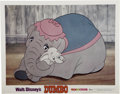 Memorabilia:Miscellaneous, Dumbo Lobby Cards and Press Material, Group of 4 (Disney, 1962-72).... (Total: 5)