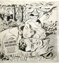 Original Comic Art:Covers, Al Avison - First Romance Magazine #10 Cover Original Art (Harvey,1951)....