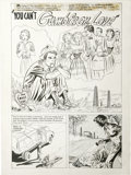 Original Comic Art:Splash Pages, Lee Elias - Harvey Romance Comics Splash Page 1 Original Art(Harvey, undated)....