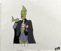 """Animation Art:Production Cel, """"Fish Police"""" - Calamari Animation Production Cel and Clean-UpDrawing Original Art, Group of 2 (Hanna-Barbera, 1992).... (Total:2)"""
