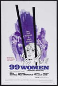 "Movie Posters:Bad Girl, 99 Women (Commonwealth United, 1968). One Sheet (27"" X 41""). Crime.Starring Maria Schell, Mercedes McCambridge, Luciana Pal..."
