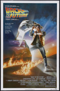 "Movie Posters:Science Fiction, Back to the Future (Universal, 1985). One Sheet (27"" X 41""). ActionComedy. Starring Michael J. Fox, Christopher Lloyd, Lea ..."