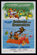 "Movie Posters:Animated, Bedknobs and Broomsticks (Buena Vista, 1971). One Sheet (27"" X41""). Fantasy. Starring Angela Lansbury, David Tomlinson, Rod..."