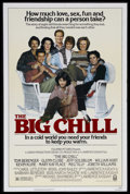 "Movie Posters:Comedy, The Big Chill (Columbia, 1983). One Sheet (27"" X 41""). Comedy/Drama. Starring Tom Berenger, Glenn Close, Jeff Goldblum, Will..."