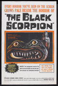 "Movie Posters:Science Fiction, The Black Scorpion (Warner Brothers, 1957). One Sheet (27"" X 41"").Horror. Starring Richard Denning, Mara Corday, Carlos Riv..."
