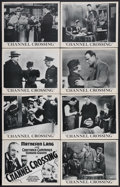 "Movie Posters:Crime, Channel Crossing (Gaumont British Picture Corp., 1933). British Lobby Card Set of 8 (11"" X 14""). Crime Drama. Starring Mathe... (Total: 8 Items)"