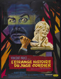 "Movie Posters:Horror, Diary of a Madman (Admiral Pictures, 1963). French Grande (47"" X 63""). Horror. Starring Vincent Price, Nancy Kovack, Chris W..."