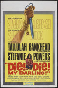 "Movie Posters:Horror, Die, Die My Darling (Hammer Films, 1965). One Sheet (27"" X 41""). Thriller. Starring Tallulah Bankhead, Stefanie Powers, Pete..."