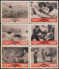 """Movie Posters:James Bond, Dr. No/From Russia With Love Combo (United Artists, R-1965). Lobby Cards (6) (11"""" X 14""""). James Bond Action. Starring Sean C... (Total: 6 Items)"""