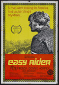 "Movie Posters:Drama, Easy Rider (Columbia, 1969). Australian One Sheet (27"" X 40""). RoadDrama. Starring Peter Fonda, Dennis Hopper, Jack Nichols..."