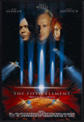 """Movie Posters:Science Fiction, The Fifth Element (Columbia, 1997). One Sheet (27"""" X 41"""") Double Sided. Sci-Fi Action. Starring Bruce Willis, Gary Oldman, I... (Total: 2 Items)"""