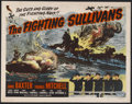"Movie Posters:War, The Fighting Sullivans (Realart, R-1951). Half Sheet (22"" X 28"").War. Starring Anne Baxter, Thomas Mitchell, Edward Ryan, W..."