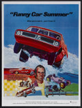 """Movie Posters:Documentary, Funny Car Summer (Ambassador Pictures, 1974). One Sheet (27"""" X 41""""). Documentary. Starring Jim Dunn, Pat Dunn, Tammy Dunn, P..."""
