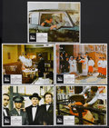 "Movie Posters:Crime, The Godfather (Paramount, 1972). Lobby Cards (5) (11"" X 14""). CrimeDrama. Starring Marlon Brando, Al Pacino, James Caan, Ri... (Total:5 Items)"