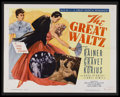 "Movie Posters:Drama, The Great Waltz (MGM, R-1962). Half Sheet (22"" X 28""). Musical Drama. Starring Luise Rainer, Fernand Gravey, Milza Korjus, H..."
