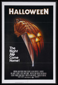 "Halloween (Compass International Pictures, 1978). One Sheet (27"" X 41""). Horror. Starring Donald Pleasence, Ja..."