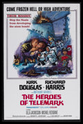 "Movie Posters:War, The Heroes of Telemark (Columbia, 1966). One Sheet (27"" X 41""). War. Starring Kirk Douglas, Richard Harris, Ulla Jacobsson a..."