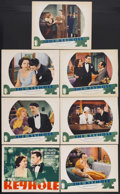 "Movie Posters:Drama, The Keyhole (Warner Brothers, 1933). Title Lobby Card (11"" X 14"") and Lobby Cards (6) (11"" X 14""). Drama. Starring Kay Franc... (Total: 7 Items)"
