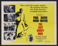 "Movie Posters:Drama, The Last Angry Man (Columbia, 1959). Half Sheet (22"" X 28""). Drama. Starring Paul Muni, David Wayne, Betsy Palmer, Luther Ad..."