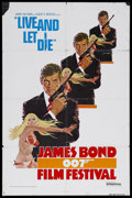 "Movie Posters:James Bond, Live and Let Die (United Artists, 1973). One Sheet (27"" X 41"").James Bond Action. Starring Roger Moore, Yaphet Kotto, Jane ..."