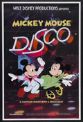 "Movie Posters:Animated, Mickey Mouse Disco (Buena Vista, 1980). One Sheet (27"" X 41"").Directed by Norman Ferguson, David Hand, Jack King, Jack Kinn..."