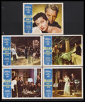 "Movie Posters:Film Noir, Night Has a Thousand Eyes (Paramount, 1948). Lobby Cards (5) (11"" X 14""). Film Noir. Starring Edward G. Robinson, Gail Russe... (Total: 5 Items)"