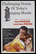 """Movie Posters:Drama, The Power and the Prize (MGM, 1956). One Sheet (27"""" X 41""""). Romantic Drama. Starring Robert Taylor, Elisabeth Müller, Burl I..."""