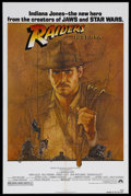 "Movie Posters:Adventure, Raiders of the Lost Ark (Paramount, 1981). One Sheet (27"" X 41"").Adventure. Starring Harrison Ford, Karen Allen, Paul Freem..."