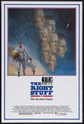 "Movie Posters:Adventure, The Right Stuff (Warner Brothers, 1983). One Sheet (27"" X 41"").Historical Adventure. Starring Sam Shepard, Scott Glenn, Ed ...(Total: 2 Items)"