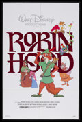 "Movie Posters:Animated, Robin Hood (Buena Vista, R-1982). One Sheet (27"" X 41""). Animated.Starring the voices of Phil Harris, Brian Bedford, Monica..."