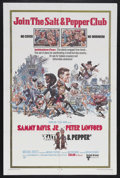 "Movie Posters:Comedy, Salt and Pepper (United Artists, 1968). One Sheet (27"" X 41""). Comedy...."