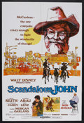 "Movie Posters:Western, Scandalous John (Buena Vista, 1971). One Sheet (27"" X 41""). Western Comedy. Starring Brian Keith. Alfonso Aura, Michele Care..."