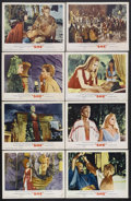 "Movie Posters:Adventure, She (MGM, 1965). Lobby Card Set of 8 (11"" X 14""). FantasyAdventure. Starring Ursula Andress, John Richardson, RosendaMonte... (Total: 8 Items)"