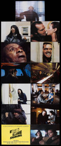 """Movie Posters:Horror, The Shining (Warner Brothers, 1980). Deluxe Lobby Card Set of 13 (11"""" X 14""""). Horror. Starring Jack Nicholson, Shelley Duval... (Total: 13 Items)"""