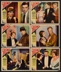 "Movie Posters:Crime, Silence (Paramount, 1931). Lobby Cards (6) (11"" X 14""). Crime.Starring Clive Brook, Marjorie Rambeau, Peggy Shannon, Charle...(Total: 6 Items)"