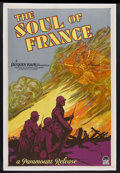 """Movie Posters:War, The Soul of France (Paramount, 1929). One Sheet (27"""" X 41"""") StyleA. War. Starring Georges Charlia, Michèle Verly, Jean Mura..."""