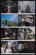 """Movie Posters:Science Fiction, Star Wars (20th Century Fox, 1977). Lobby Card Set of 8 (11"""" X14""""). Sci-Fi Action. Starring Mark Hamill, Harrison Ford, Car...(Total: 8 Items)"""