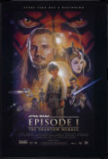 "Movie Posters:Science Fiction, Star Wars: Episode I - The Phantom Menace (20th Century Fox, 1999).One Sheet (27"" X 41"") Double Sided. Sci-Fi Action. Starr..."