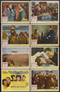"""Movie Posters:War, Thirty Seconds Over Tokyo (MGM, 1944). Lobby Card Set of 8 (11"""" X14""""). War. Starring Van Johnson, Robert Walker, Phyllis Th...(Total: 8 Items)"""