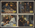 """Movie Posters:War, This Above All (20th Century Fox, 1942). Lobby Cards (4) (11"""" X14""""). War Drama. Starring Tyrone Power, Joan Fontaine, Thoma...(Total: 4 Items)"""