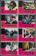 "Movie Posters:Crime, The Thomas Crown Affair (MGM, 1968). Lobby Card Set of 8 (11"" X14""). Crime Thriller. Starring Steve McQueen, Faye Dunaway, ...(Total: 8 Items)"