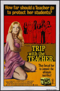 "Movie Posters:Crime, Trip with the Teacher (Crown-International, 1974). One Sheet (27"" X41""). Crime. Starring Brenda Fogarty, Zalman King, Rober..."